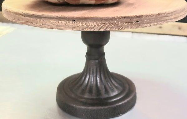 Wood & Cast Iron Riser