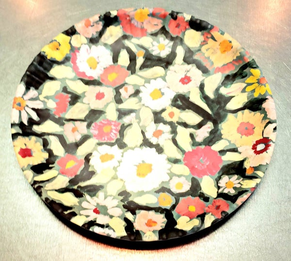 Fruit and Floral Melamine Plates