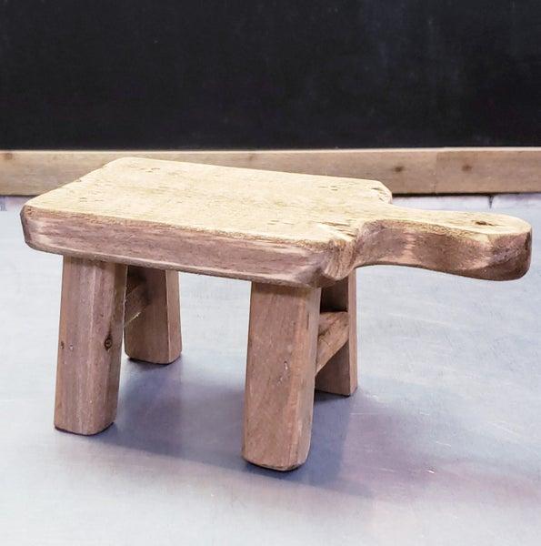 Small Wooden Pedestal