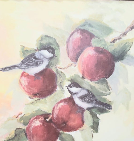 Bird on Apple Branch Gallery