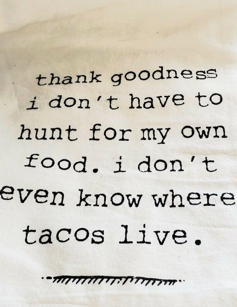 Taco Dishtowel