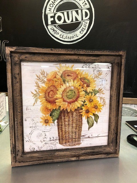 Sunflower Framed Picture