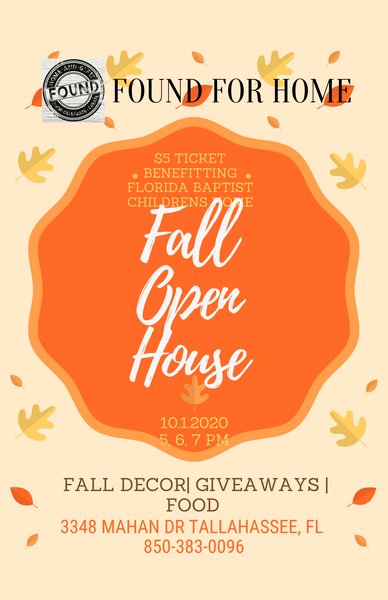 Fall Open House 7:30 PM