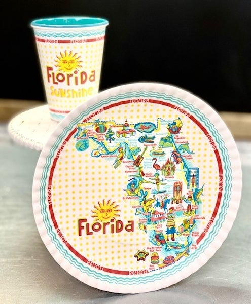 Florida Cups/Plates