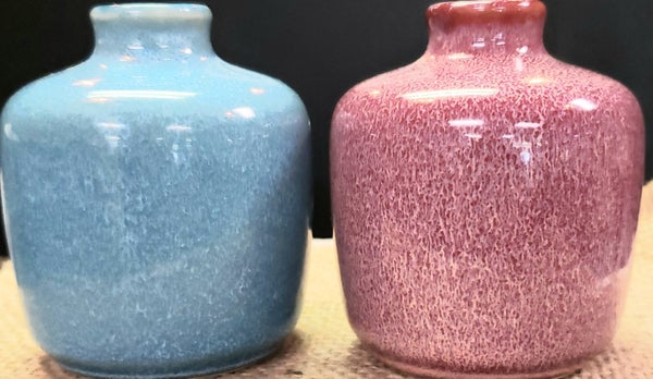 Small Colorfull Stoneware Vases