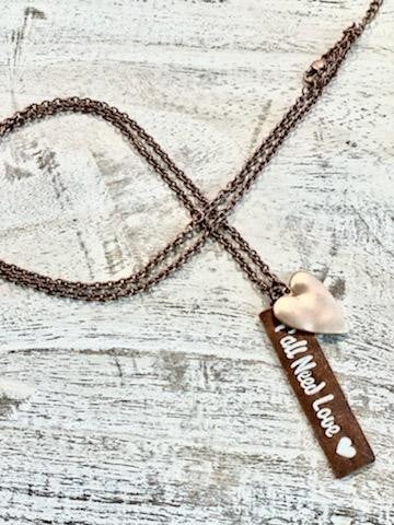 Long Need Love Necklace