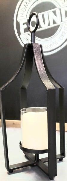 Black Tin Lantern