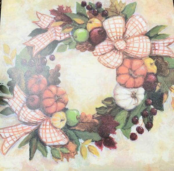 Large Hamilton Fall Wreath Gallery