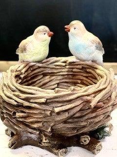 Double Bird Nest Holder