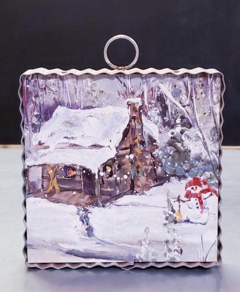 Christmas Cabin Mini Gallery