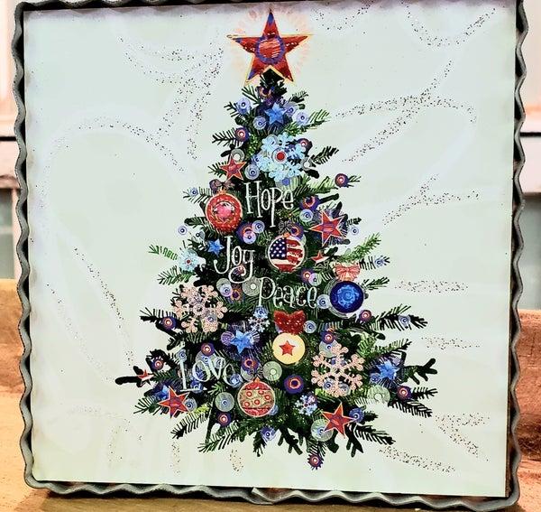 Americana Christmas Tree Mini Gallery
