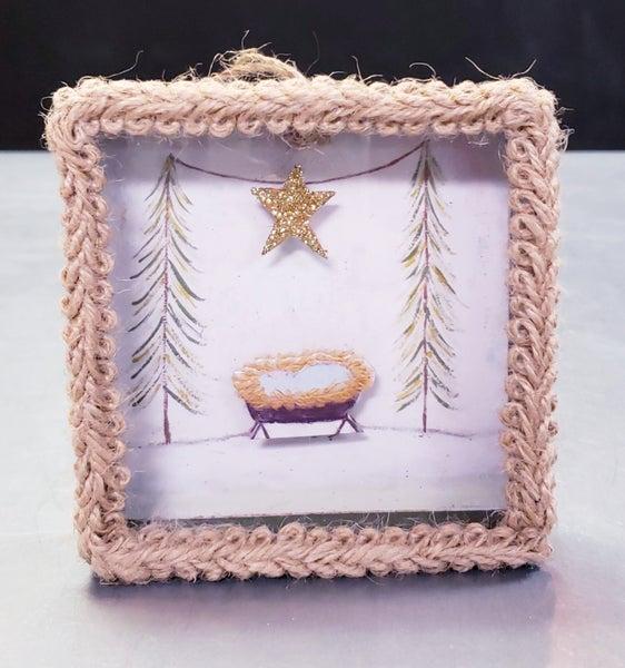 Shadow Box Ornament