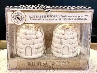 Bee Hive Salt & Pepper