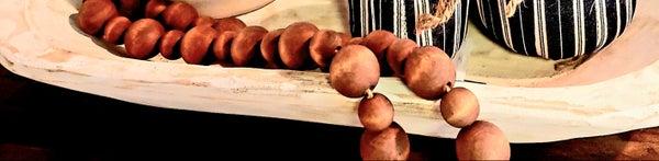 XL Walnut Beads