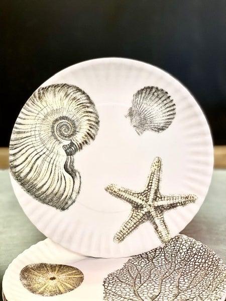 Seashore Melamine Plates
