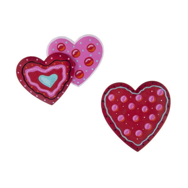 Whimsy Heart Magnets