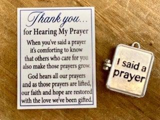 Prayer Box Charm