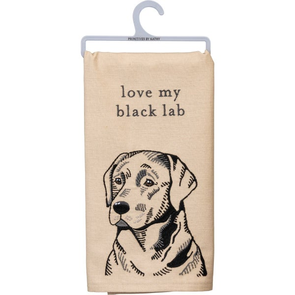 Love My Dog Tea Towels
