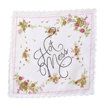 Hot Mess Handkerchief