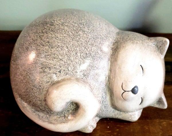 Stoneware Fat Cat
