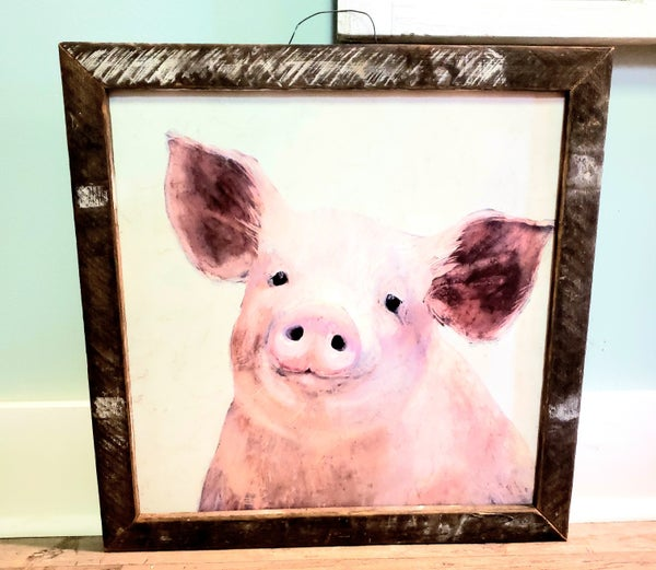 Scrapple the Pig w/ Tobacco Frame