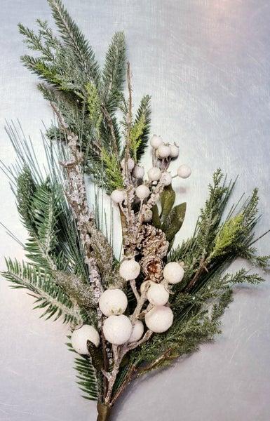 Icy Pine w/ Berry Stem