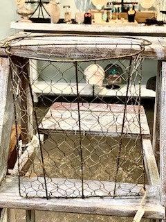 Chicken Wire Wall Basket