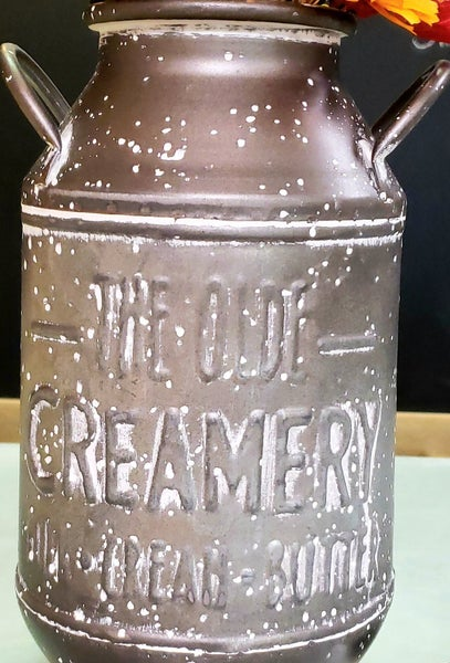 Old Creamery Milk Can