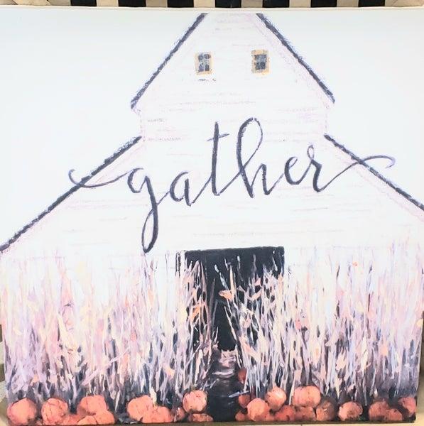 Large Gather Canvas