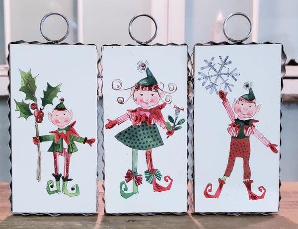 Silly Elf Ornament