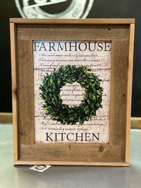 Farmhouse Shadow Box Sign