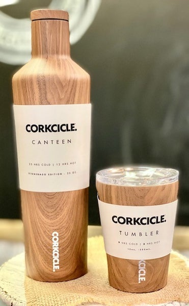 Wood Grain Corkcicle