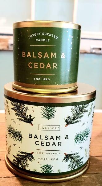 Balsam & Cedar Large Candle