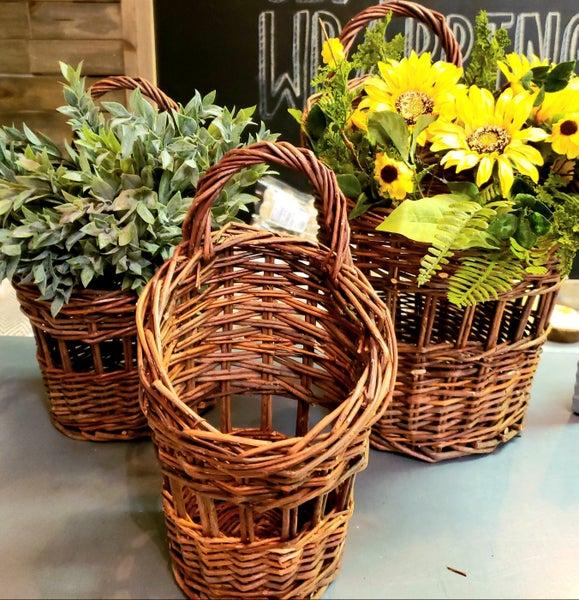 Walnut Willow Basket