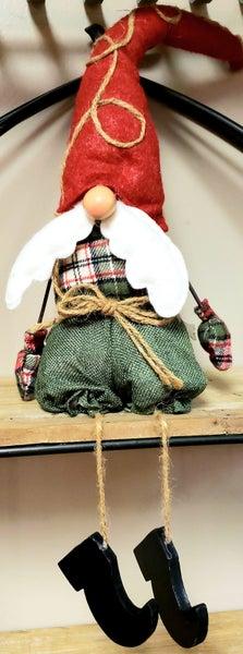Small Santa Tree Gnome
