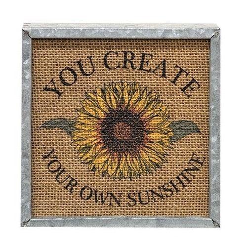 Sunflower Box Sign