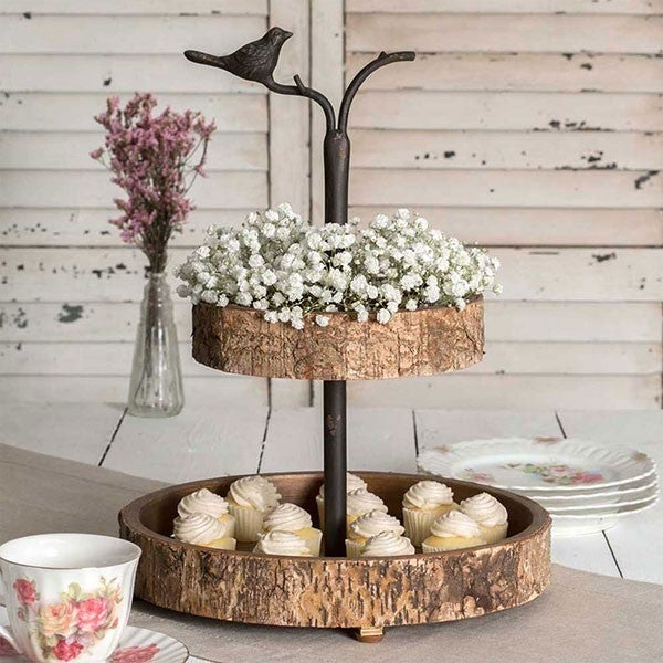 Bird & Birch Two Tier Tray