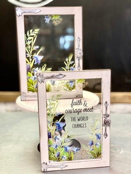 Faith Window Plaque