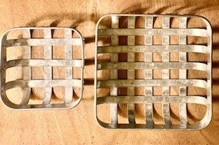 Small Metal Tobacco Baskets