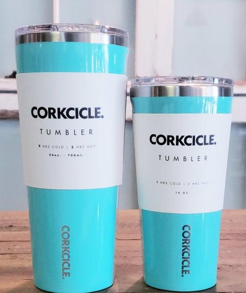 Blue Corkcickle Tumblers