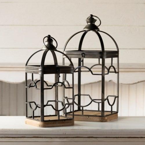 Metal Cutout Lanterns