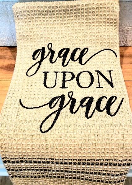 Grace Upon Grace Towel