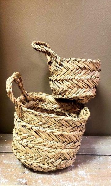 Seagrass Baskets w/ Handle
