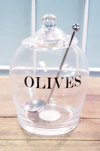 Olive Jar w/ Spoon