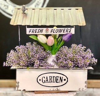 Flower Booth Wall Planter