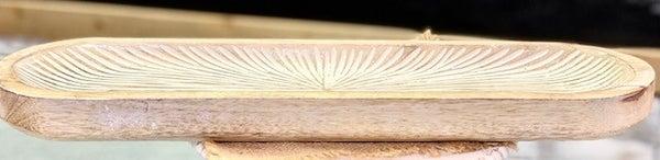 Starburst Wood Tray