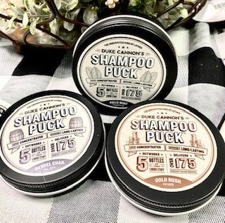 Men's Shampoo Pucks