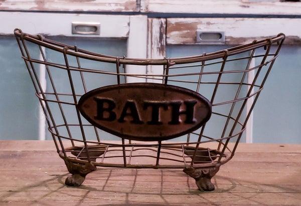 Copper Wire Bath Baskets