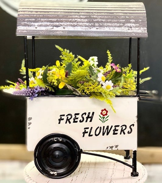 Flower Cart Planter