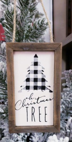 Buffalo O' Christmas Tree Ornament